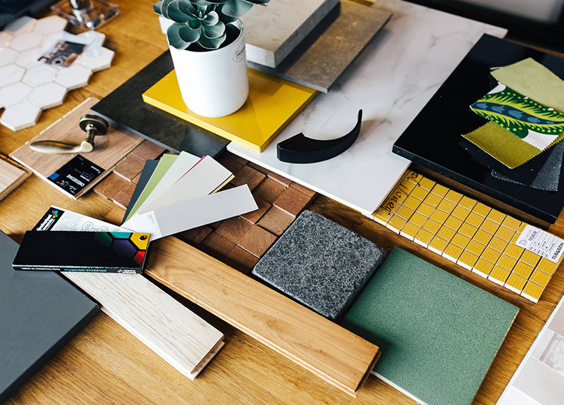 Complete practical assignments and build your interior design portfolio