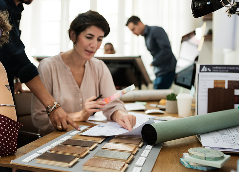 Find out how to set yourself up as a freelance interior designer and deal with clients